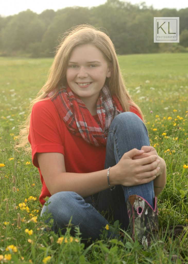 senior photo country boots endicott