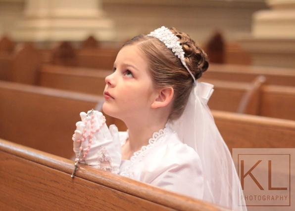 Elyssa's First Holy Communion
