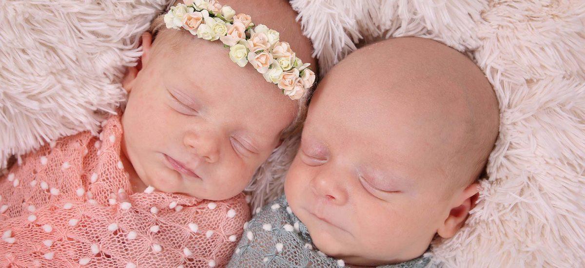 Thomas & Mary – Newborn Twins Portraits