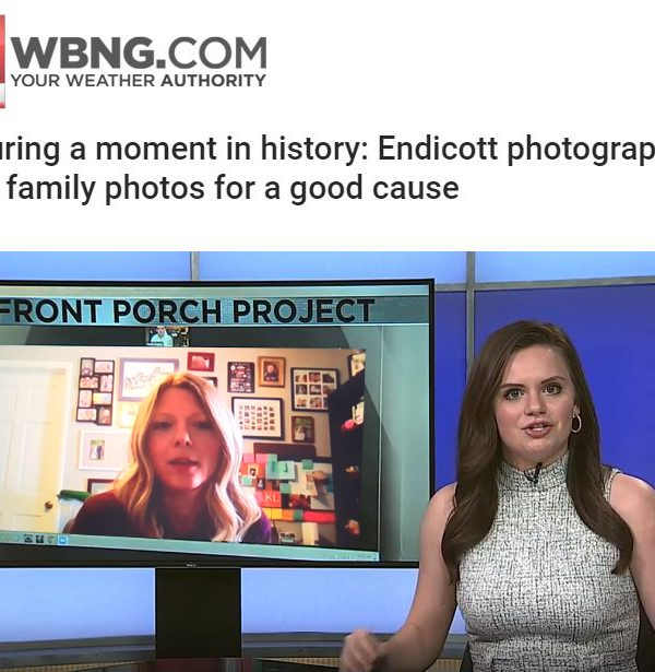 The Front Steps Project featured on WBNG 12 News