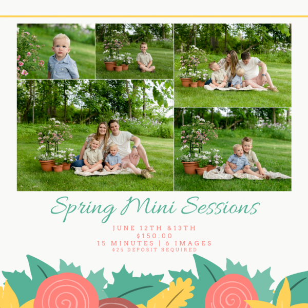 Now Booking Spring Mini Sessions